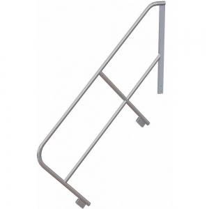 TRI-ARC MPASHR7 Stair Unit Handrail, 32 Inch Height, Aluminum | CD3LGQ 53JE81