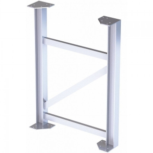 TRI-ARC MPASST5 Support Leg, 500 Lbs. Load Capacity, 45 Inch Overall Height | CD3VLM 53JE87
