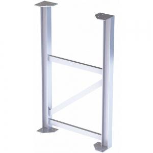 TRI-ARC MPASST6 Aluminum Support Leg, 500 Lbs. Load Capacity, 54 Inch Overall Height | CD3LGU 53JE88