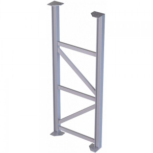 TRI-ARC MPASST9 Aluminum Support Leg, 500 Lbs. Load Capacity, 81 Inch Overall Height | CD3LGW 53JE91