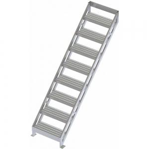 TRI-ARC MPASSW9 Ladder, Climbing Angle 45 Deg., 500 Lbs.Load Cap., Aluminum | CD3WHJ 53JE75