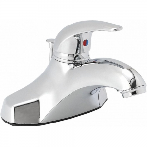 TRIDENT 48LX69 Brass Bathroom Faucet, Single Handle Type, No. of Handles 1 | CD3KFQ 48LX69