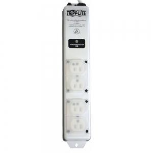 TRIPP LITE SPS406HGULTRA 6 ft. Surge Protector Outlet Strip, White, No. of Total Outlets 4 | CD2MMJ 54VH63