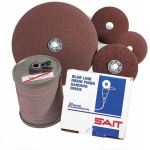 UNITED ABRASIVES-SAIT 60071 Fiber Disc, 7 Inch, Coated, 7/8 Inch Mounting Hole Size, 20 Pk | CD3WQM 48TA82