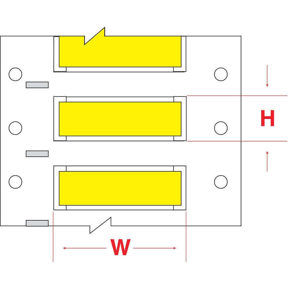 Brady Hx 1500 150 Yl Wire Marker Sleeve Raptor Supplies Uk Wiring Diagram 120 Larger Image