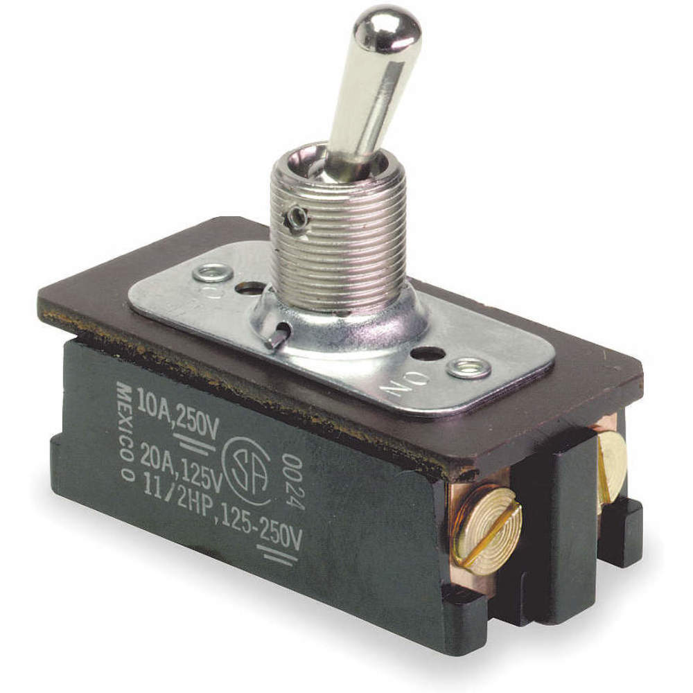 CARLING TECHNOLOGIES 2GK724-D-4B-B Toggle Switch,DPST,10A @ 250V,Screw