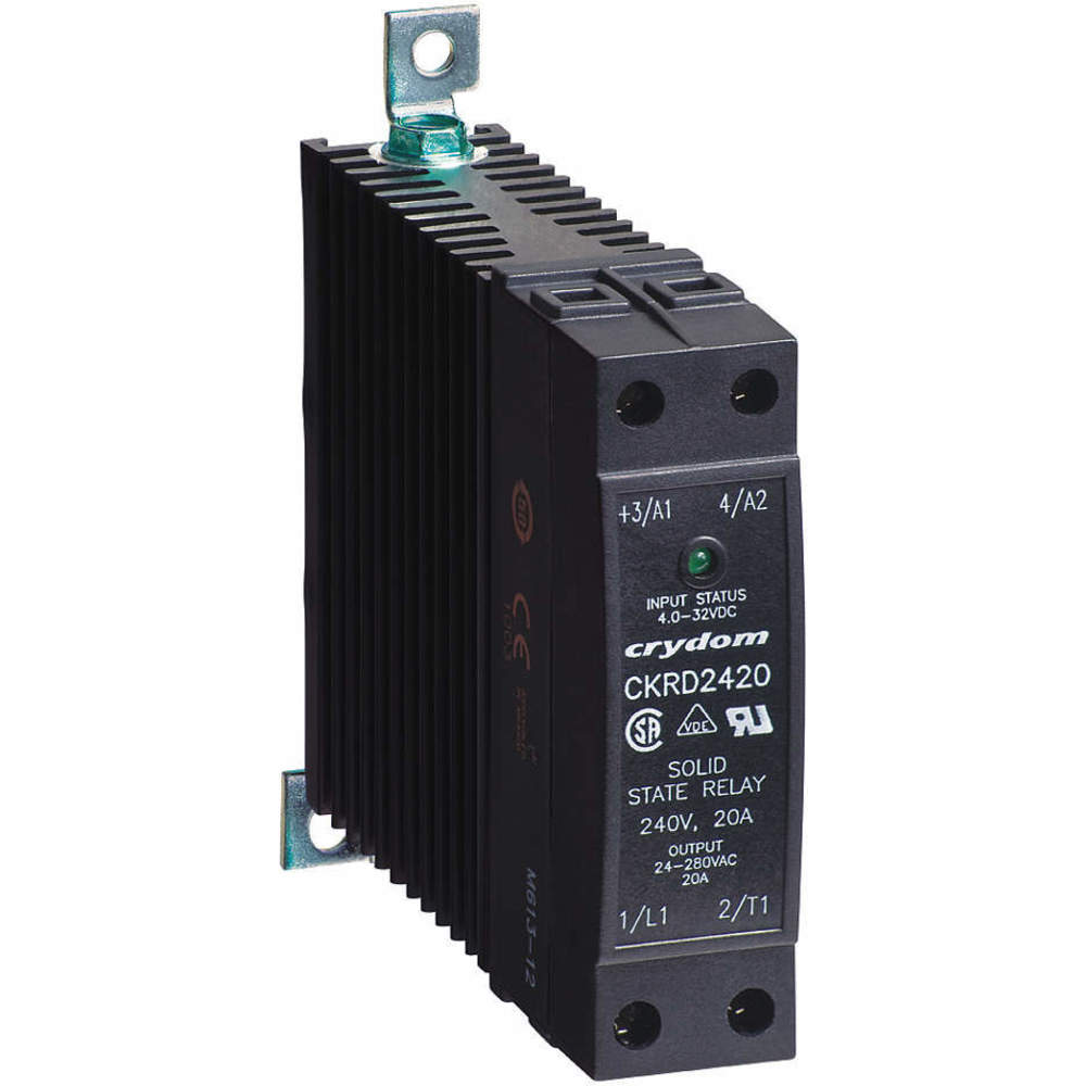 Crydom Ckrd483010 Din Mount Solid State Relay Raptor Supplies Uk Ac Input Vdc