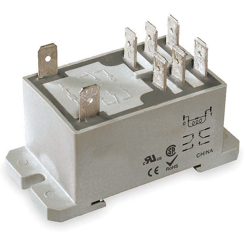 Dayton 1ejh2 Enclosed Power Relay Raptor Supplies Uk Electrical Dpdt 12vdc Coil Volts