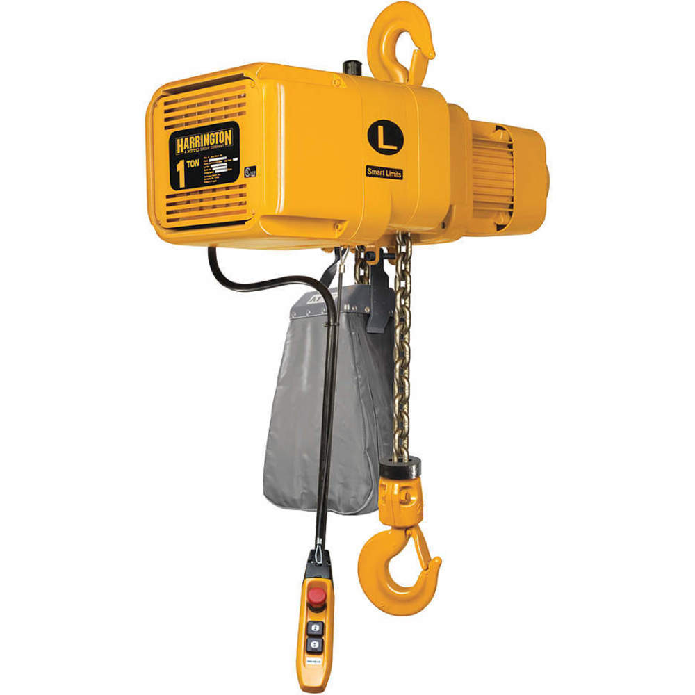 20 ft Harrington Lever Chain Hoist 6000 lb Lift 1-5//16 Hook Opening LB030-20-SYH Load Capacity