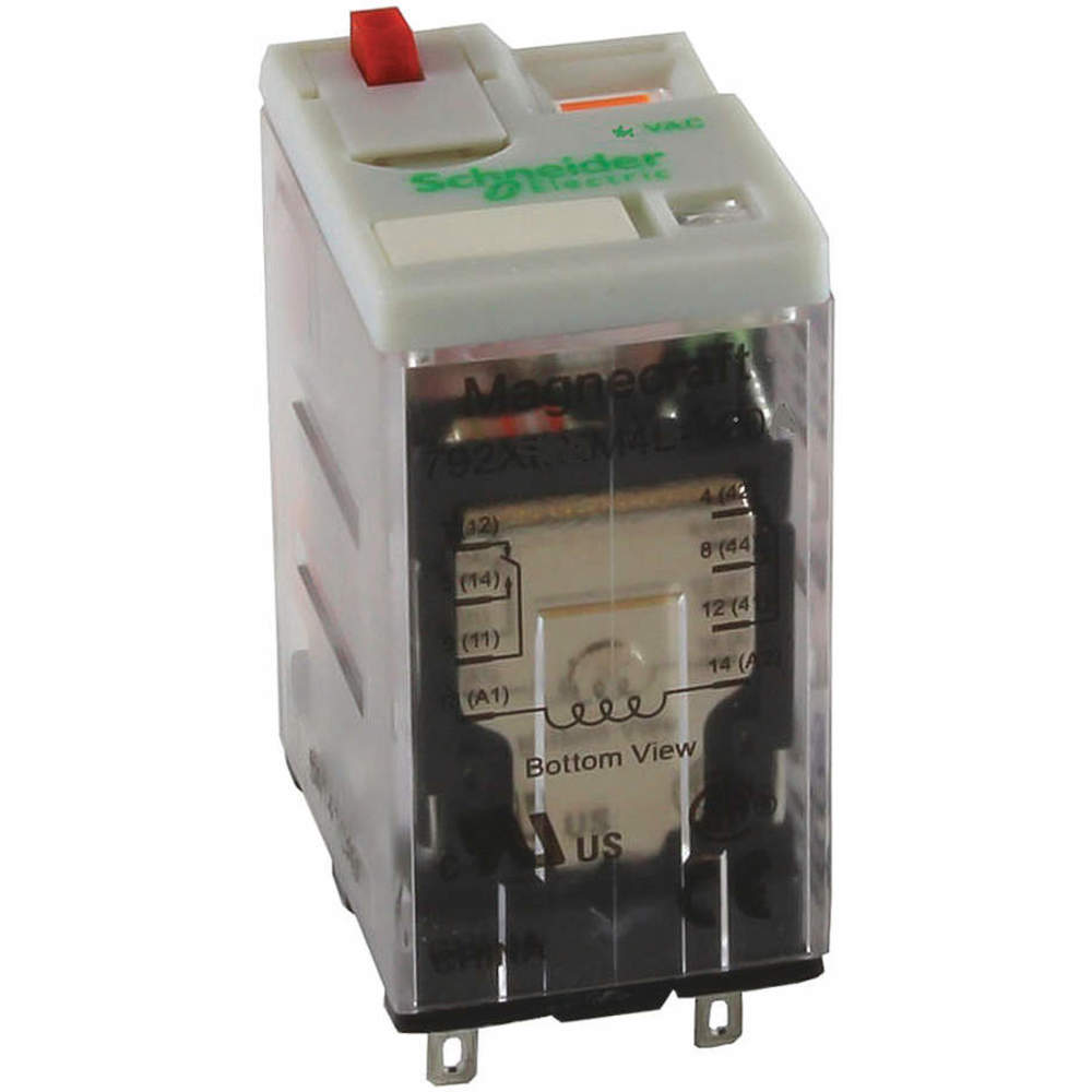Schneider Electric 792xdx3m4l 12d Plug In Relay Raptor Supplies Uk Electrical Larger Image