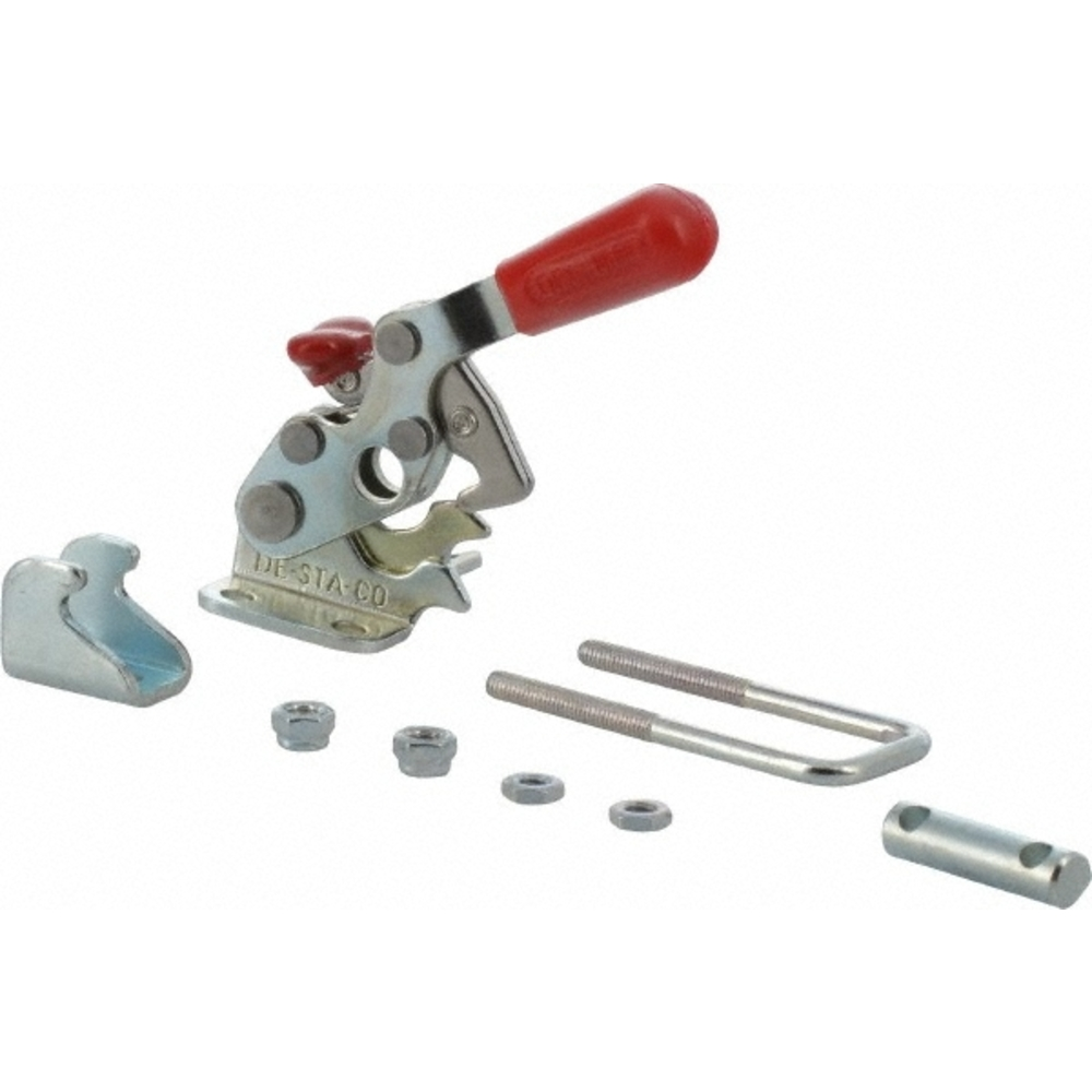 DE-STA-CO 323-R Horizontal U-Hook Pull-Action Latch Clamp with Toggle Lock Plus